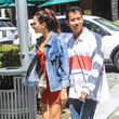 Georgie Flores Jared Eng Steps Out In Beverly Hills