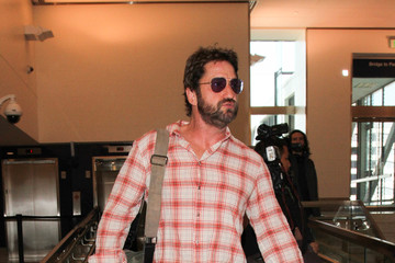 Gerard Butler Gerard Butler Is Seen at LAX