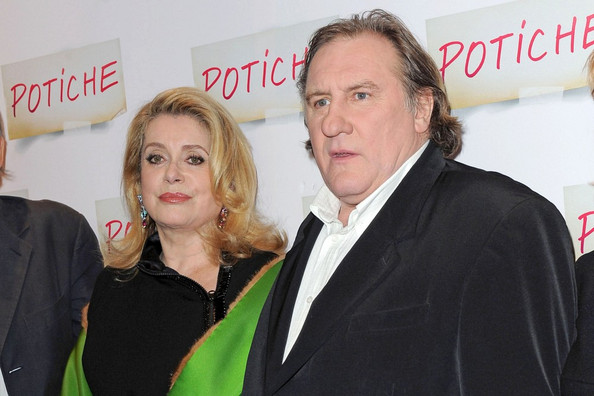 "Gerard Depardieu ""Potiche"" premiere at the Gaumont Opera cinema."