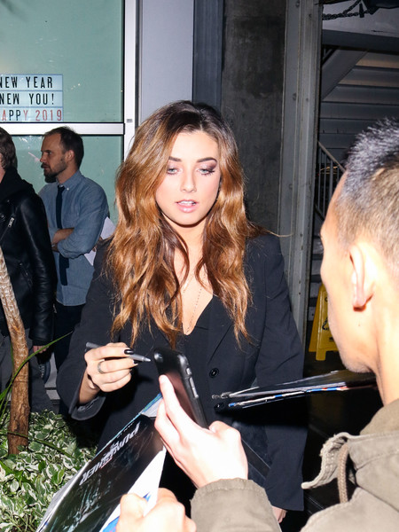 Giorgia Whigham Outside 'The Punisher' Season 2 Premiere At Arclight Theatre []