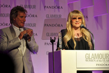 Rod Stewart Stevie Nicks Glamour After Party