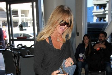 Goldie Hawn Goldie Hawn at LAX