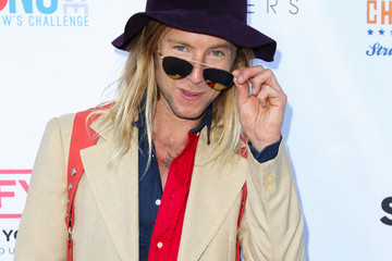 Greg Cipes Clayton Kershaw's 4th Annual Ping Pong 4 Purpose Celebrity Tournament at Dodger Stadium