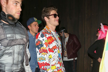 Gregg Sulkin Celebrities Attend Just Jared's Annual Halloween Party