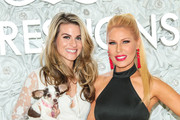 Gretchen Rossi and Rachel McCord are seen attending the Gretchen Christine x Impressions Vanity PopUpParty at Impressions Vanity in West Hollywood in Los Angeles, California.