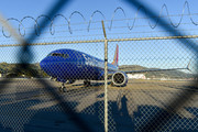 Grounded Boeing Boeing 737 MAX 8