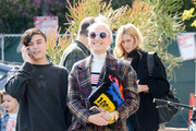 Gwen Stefani Is Seen Out In The L.A. Area With Her Son