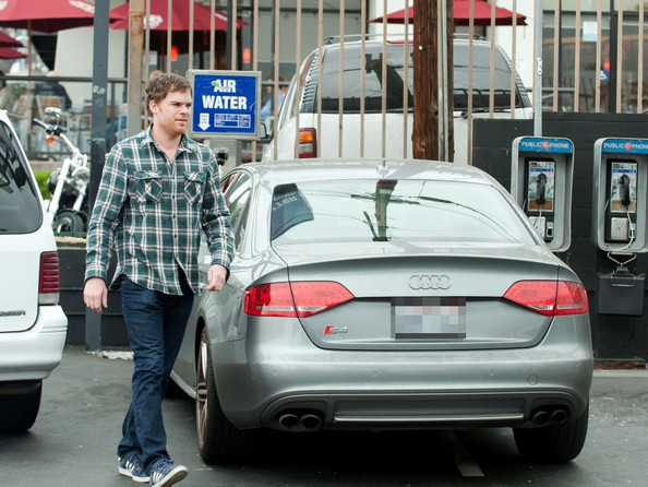 photo of Michael C. Hall Audi S4 - car