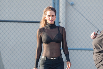 Halle Berry Halle Berry at 'Jimmy Kimmel Live'