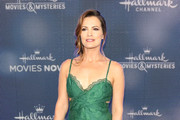 Melissa Claire Egan is seen attending the Hallmark Channel and Hallmark Movies & Mysteries summer 2019 TCA press tour Event at Private Residence in Los Angeles, California.