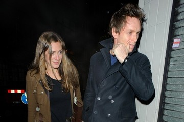 Hannah Bagshawe Eddie Redmayne Spotted in London