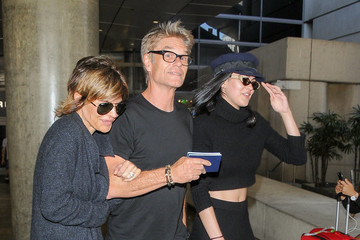 Harry Hamlin Lisa Rinna and Her Family Are Seen at LAX