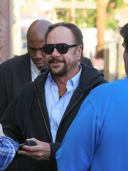 Harry Wayne Casey Arrives at 'Jimmy Kimmel Live'