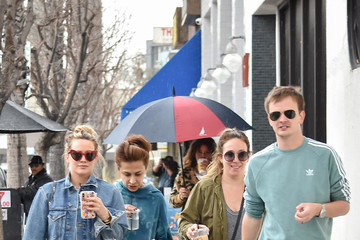 Haylie Duff Hilary Duff And Haylie Duff In Los Angeles