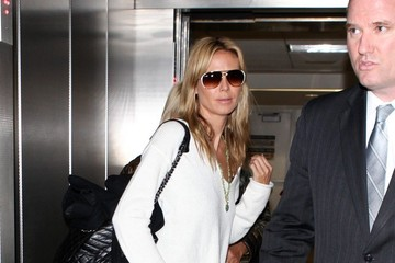 Heidi Klum Heidi Klum Arrives at LAX — Part 2