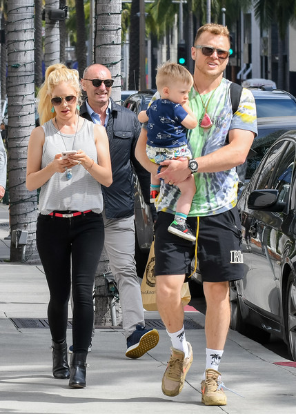 Heidi Montag And Her Family Step Out