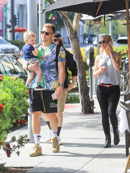 Heidi Montag And Her Family Step Out In Beverly Hills