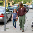 Makena Carnahan Helen Hunt and Daughter Out in LA