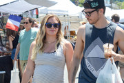 Hilary Duff and Matthew Koma out and about..
