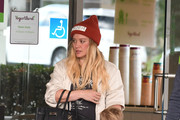 Hilary Duff Enjoys Lunch With Her Son