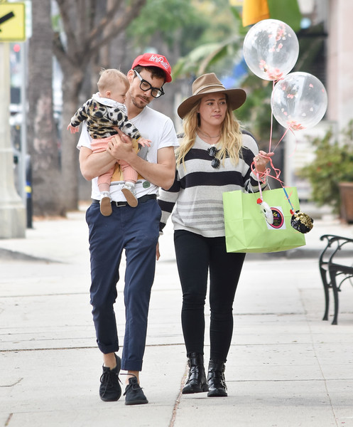 Hilary Duff Is Seen Out With Her Family