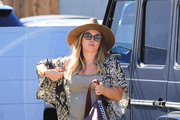 Hilary Duff Out And About With Her Son Luca