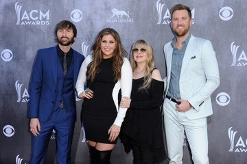Hillary Scott Arrivals at the Academy of Country Music Awards