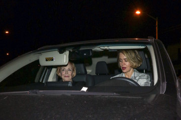 Holland Taylor Sarah Paulson Is Seen Outside Craig's Restaurant