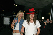 Kimberly Stewart & fiance Cisco Adler Photos Photo