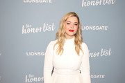 Sasha Pieterse is seen attending 'The Honor List' Premiere at London Hotel in West Hollywood in Los Angeles, California.