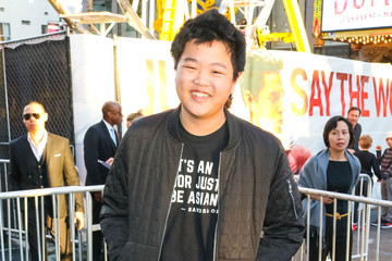 Hudson Yang Hudson Yang Outside The 'Shazam!' Premiere At TCL Chinese Theatre