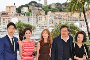 "Moon So-Ri Hong Sangsoo The ""Country"" Photocall at Cannes"