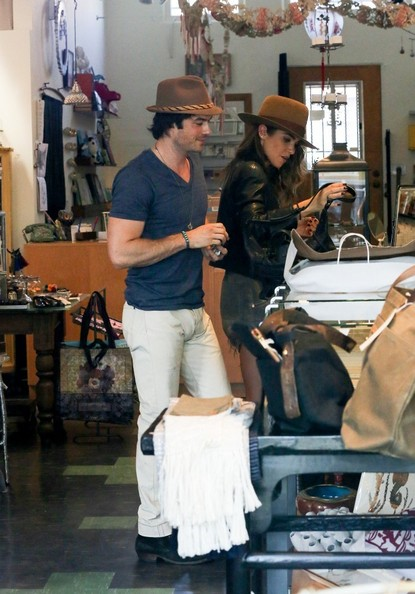 Ian Somerhalder - Nikki Reed and Ian Somerhalder Shop
