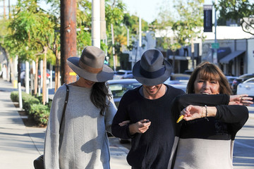 Ian Somerhalder Nikki Reed and Ian Somerhalder Runs Errands Together