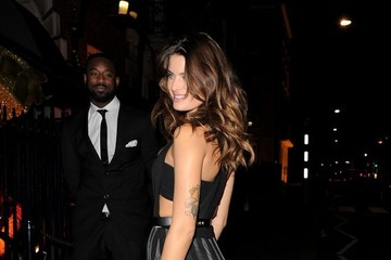 Isabeli Fontana Celebs Attend the Chopard Party
