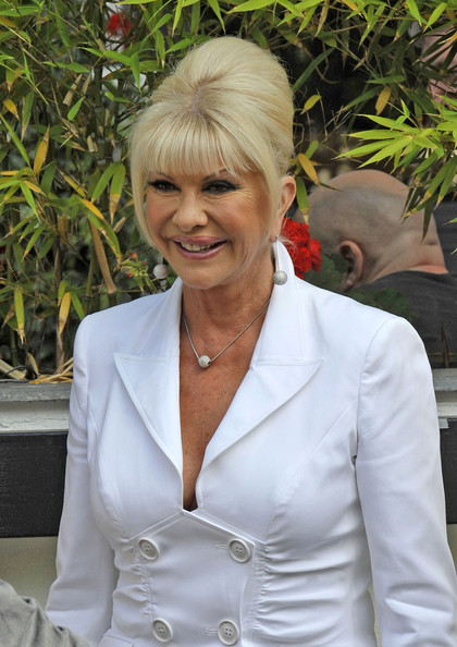 Ivana Trump Photos Photos Ivana Trump In London Zimbio
