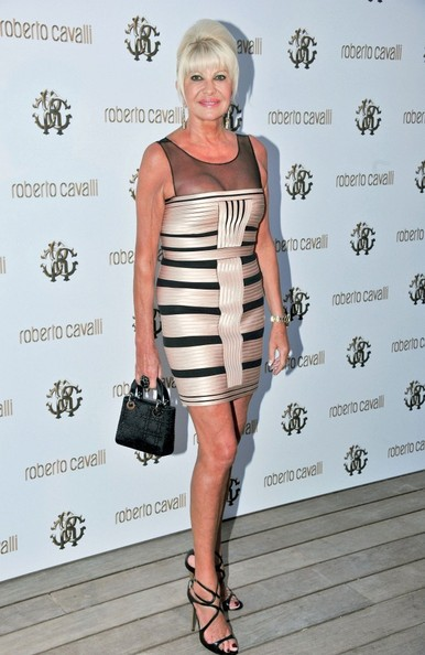 Ivana Trump Photos Photos Roberto Cavalli Opens A New Boutique