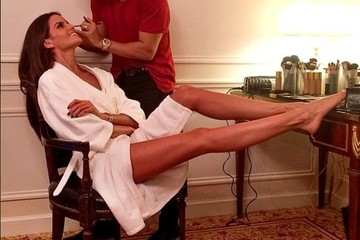 Izabel Goulart Celebrity Social Media Pics