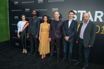 J.K. Simmons Harry Lloyd STARZ 'Counterpart' And 'Howards End' FYC Event