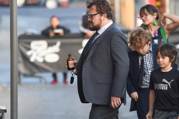 Jack Black Jack Black at 'Jimmy Kimmel Live'