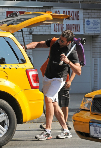Hugh Jackman Out with Family