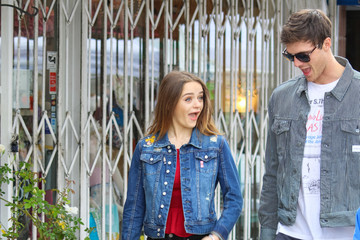 Jacob Elordi Joey King And Jacob Elordi Shopping At The Farmer's Market In Studio City