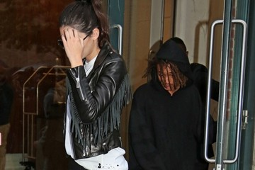 Jaden Smith Kendall Jenners and Jaden Smith Hit the Town