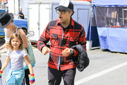 Jaime Camil At Farmers Market In Studio City