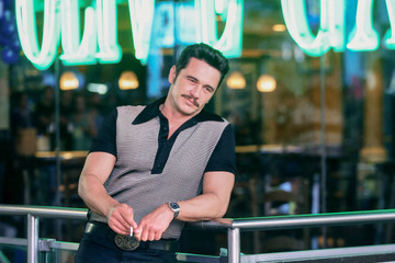 James Franco James Franco At The Film Set Of HBO's 'The Deuce'