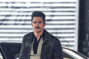 Stars are seen on the set of the 'The Deuce' on June 15, 2018.
