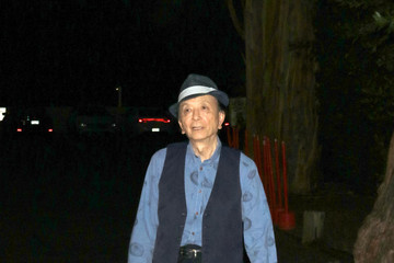 James Hong Celebrity Sightings Outside the MundoFlix Party at Sportman Lodge in Studio City