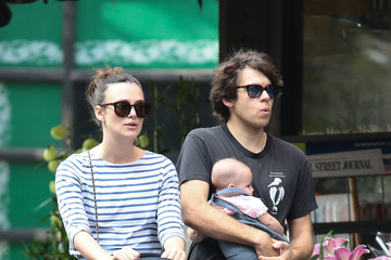 James Righton Keira Knightley and Her Family Go for a Stroll