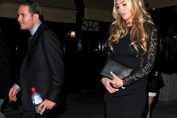 James Stunt Petra Ecclestone and James Stunt Out Late in Mayfair