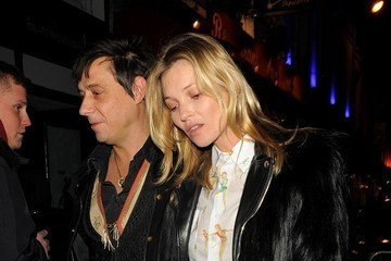 Jamie Hince Kate Moss and Jamie Hince Party in Paris
